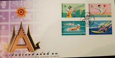 O) 1998 THAILAND, ASIAN GAMES BANGKOK, SHOOTING-RHYTHMIC GYMNASTIES -SWIMMING -W