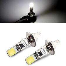 2x H1 Car Super White HID Xenon 6000K COB LED Fog Driving Light Bulbs High Power