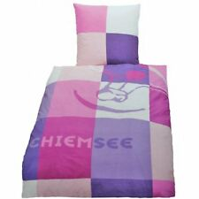 Chiemsee Bettwäsche Renforce 135/200 + 80/80 cm NEU
