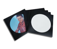 5 Fundas Carpetas Genericas Cartón Negro Para Discos De Vinilo LP Picture Disc