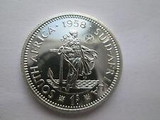 Rare 1958 Afrique du Sud la preuve shilling seulement 985 minted!