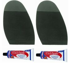 LADIES EXECUTIVE PREMIUM DIY STICK ON SOLES WITH KLEBFEST GLUE ANTI SLIP GRIP