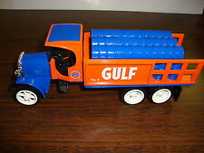 "Gulf---1925 Kenworth Stake Truck---Locking Bank With Key---8"" Long---1997"
