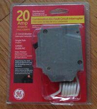 GE THQL1120AFP2 SINGLE POLE COMBINATION ARC FAULT CIRCUIT INTERRUPTER 20 AMP NEW