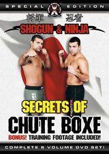 NEW! Secrets of Chute Boxe DVD Set - Shogun & Ninja Rua MMA BJJ Martial Arts