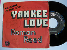 "ROMAN REED : Yankee love / my mamy  - 7"" SP PINK ELEPHANT France 1972"