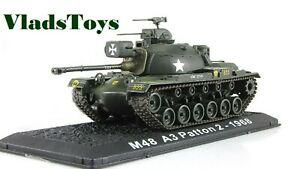 Amercom 1:72 M48A1 Patton USMC 1st Tank Btn, Danang, Vietnam, 1968 ACCS01