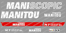 Manitou mt1335sl Maniscopic DECALCOMANIE ADESIVO Set