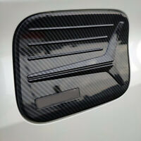 ABS Carbon Fiber Car Oil Fuel Tank Cap Cover Trim for Toyota Prius 2017-2020