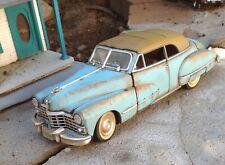 Autoart,1/18 1947 Cadillac  weathered w/rust,junkyard,barnfind,custom repaint