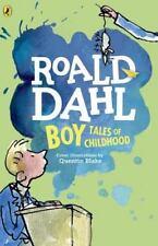 Boy - Tales of Childhood by Roald Dahl (2009, Paperback)