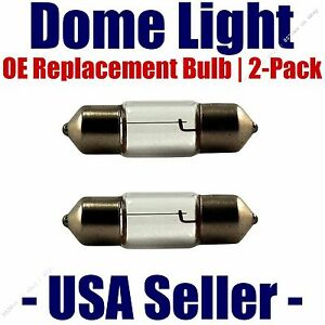 Dome Light Bulb 2-Pack OE Replacement - Fits Listed Isuzu Vehicles - DE3022