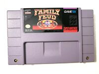Family Feud SUPER NINTENDO SNES GAME Tested + WORKING & Authentic!