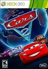 Cars 2: The Video Game Xbox 360 Disney-Pixar WITH CASE