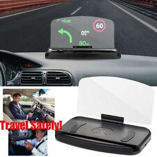 Universal Car Head Up Navigation Display Phone Holder GPS Projector