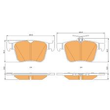 Braymann Rear Brake Pads Set BBP0745 - BRAND NEW - GENUINE - 2 YEAR WARRANTY