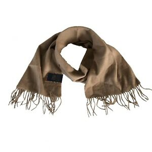 Club Room Cashmere Scarf Unisex Tan Fast Free Shipping $110