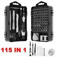 115 in 1 Magnetic Precision Screwdriver For Computer PC Phone Repair Tool Set