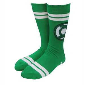 Green Lantern Symbol Green Socks Green