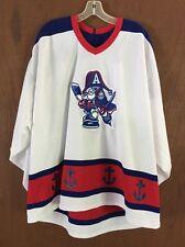 Milwaukee Admirals Vintage Hockey Jersey BAUER XL IHL AHL Nashville Predators