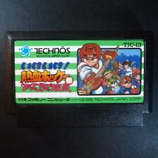 NEKKETSU HOCKEY SUBETTE KORONDE DAIRANTO Nintendo Famicom NTSC JAPAN・❀・SPORT NES