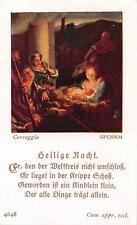 "Fleißbildchen Heiligenbild Andachtsbild Holy card ars sacra""H1993"" MESSOPFER"