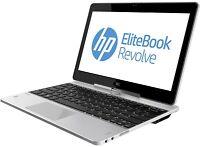 "HP rEVOLVE 810 G2 LAPTOP i7 4600U 2.1gHZ 8GB 256GB 11.6"" Touchscreen win 10 PRO"
