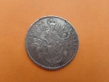 Germany Bavaria 1780 Thaler Karl Theodor Silver 27,97 gr RRRR Original!