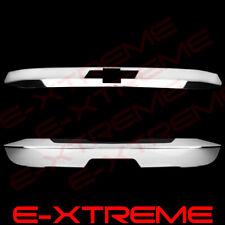 For 2015 2016 Chevrolet TAHOE Rear Trunk Tailgate Lift Chrome Cover Upper +Lower