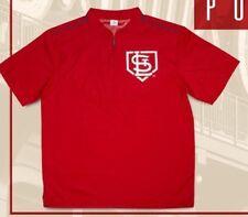 PULLOVER sga cardinals SHIRT st. louis stl NEW promo item ADULT XL 1/4 zip