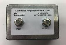 New listing Kitztech Kt-200 Hdtv Preamplifier-Ultra Low Noise Tv Antenna Amplifier/Booster