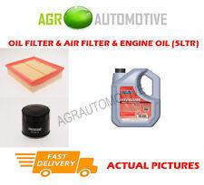 DIESEL OIL AIR FILTER KIT + FS 5W40 OIL FOR RENAULT LAGUNA 1.9 131 BHP 2005-07