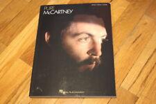 Paul McCartney Pure McCartney Sheet Music Piano Book Vocal Guitar