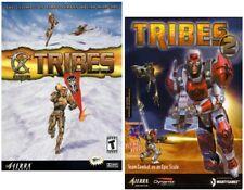 STARSIEGE: TRIBES + TRIBES 2 - 2 PC-SPIELE BUNDLE SET