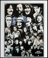 THE BEATLES POSTER PAGE 1976 ROCK N ROLL MUSIC ALBUM REPRO PROMO POSTER . F26