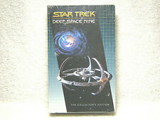 STAR TREK DEEP SPACE NINE - VHS - THE COLLECTOR'S EDITION - CLAMSHELL NEW SEALED