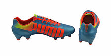 Puma evoSPEED 1.2 FG blue-peach-yellow Herren Fußballschuhe 102833-05