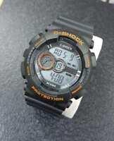 ds Orologio ZCC C-Shock Digitale Sveglia Data Subacqueo Sport Nero Aranci lac