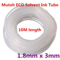 10M / LOT Mutoh ECO Solvent Ink Tube 1.8mm*3mm for Both Solvent / ECO Ink