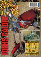 September Back Street Heroes Motorcycles Magazines