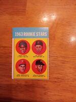 1963 Topps # 553 WILLIE STARGELL RC HI # EX HERRNSTEIN Pirates ROOKIE Card HOF