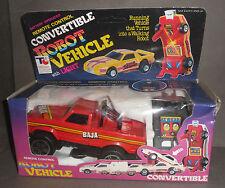 Remote Control CONVERTIBLE AUTO VEHICLES Boxed NO Robot Transformers Jeep 4x4