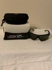 NEW Zeal Optics RIVAL 10898 Sunglasses Black Frame Dark Grey Lens