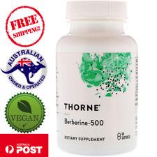 Thorne Research - Berberine-500 - 60 Vegan Caps - for Metabolism & Cardio Health