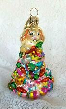 "Christopher Radko ""Egg Scramble"" Easter Ornament Limited Edition Qvc"