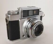 Vintage AGFA Silette SLE Automatic Camera w Case Prontor SLK Color Solinar 1:2.8