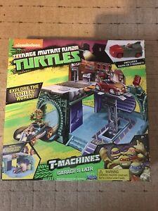 Teenage Mutant Ninja Turtles T-Machines Garage And Lair