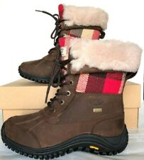 New Ugg Adirondack Waterproof Cold weather Boots Size 5 Plaid