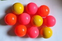 Cricket Wind ball Orange Yellow  Wind Balls Practice (Pack of 6) Pet Gift air