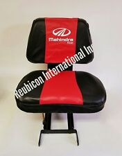 MAHINDRA TRACTOR SEAT COVER -SMALL (RED AND BLACK)